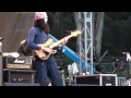 Buckethead playing bass at Strictly Bluegrass in Golden Gate Park